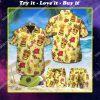 tropical dachshund dog lover all over print hawaiian shirt