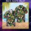 tropical the grateful dead band all over print hawaiian shirt