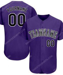 Custom team name purple black-white baseball jersey 1 - Copy (2)