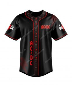 ACDC rock band all over print baseball jersey 2 - Copy