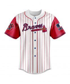 Atlanta braves and scooby doo all over print baseball jersey 2 - Copy