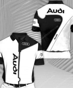 Audi sports car racing all over print polo shirt 1 - Copy (2)