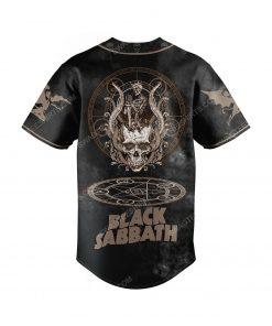 Custom black sabbath rock band all over print baseball jersey 2 - Copy