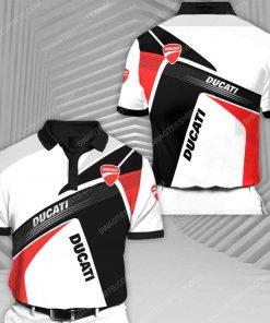Ducati motor holding racing all over print polo shirt 1 - Copy (2)