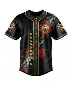 Guns n roses take me down to the paradise city baseball jersey 2 - Copy