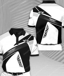 Mini cooper sports car racing all over print polo shirt 1 - Copy (2)