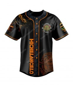 Teenage mutant ninja turtles baseball jersey 2 - Copy