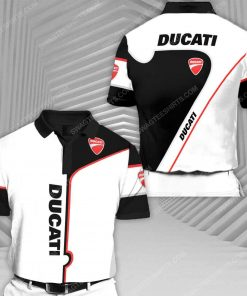 The ducati sports car racing all over print polo shirt 1 - Copy (2)