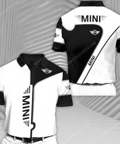 The mini cooper car racing all over print polo shirt 1 - Copy (2)