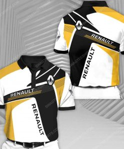 The renault sports car racing all over print polo shirt 1 - Copy (2)