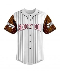 The scooby-doo movie all over print baseball jersey 2 - Copy