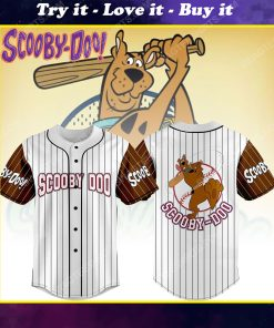 The scooby-doo movie all over print baseball jersey