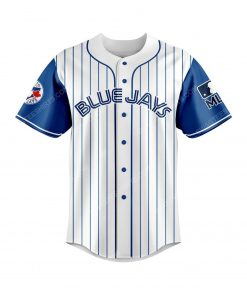 Toronto blue jays and scooby doo all over print baseball jersey 2 - Copy
