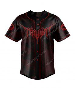 Trivium american heavy metal band baseball jersey 2