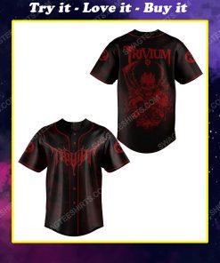 Trivium american heavy metal band baseball jersey