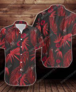 Tropical summer georgia bulldogs short sleeve hawaiian shirt 3 - Copy