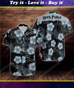 Tropical summer harry potter short sleeve hawaiian shirt