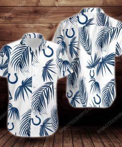 Tropical summer indianapolis colts short sleeve hawaiian shirt 3