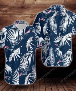 Tropical summer new england patriots short sleeve hawaiian shirt 2 - Copy