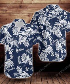 Tropical summer new york yankees short sleeve hawaiian shirt 3 - Copy