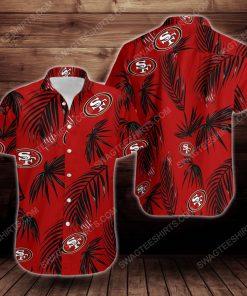 Tropical summer san francisco 49ers short sleeve hawaiian shirt 2 - Copy