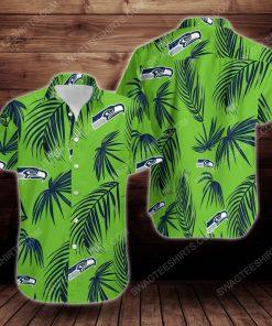 Tropical summer seattle seahawks short sleeve hawaiian shirt 2 - Copy