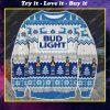 Bud light beer ugly christmas sweater 1