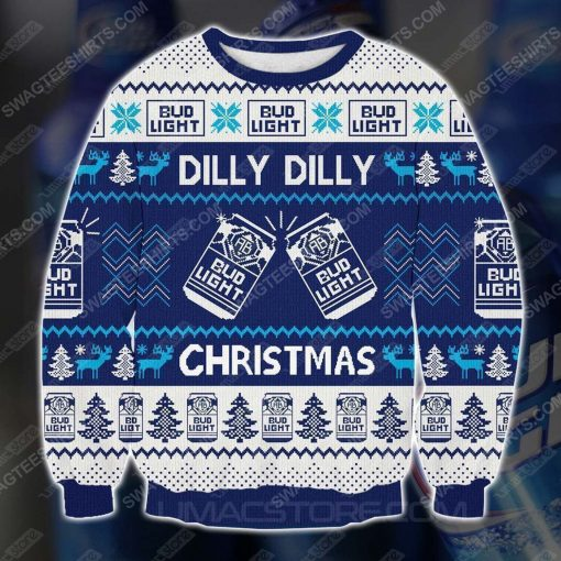 Bud light dilly dilly christmas ugly christmas sweater - Copy (2)