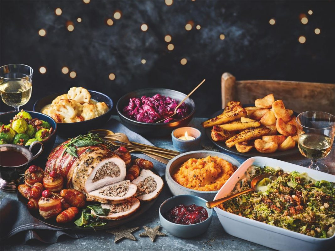Christmas meal in a box 2020