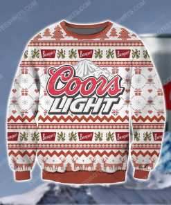 Coors light beer ugly christmas sweater