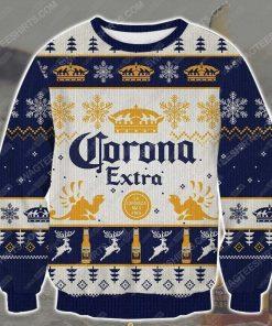 Corona extra beer ugly christmas sweater - Copy
