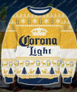 Corona light beer ugly christmas sweater