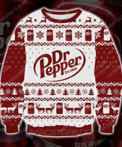Dr pepper est 1885 ugly christmas sweater
