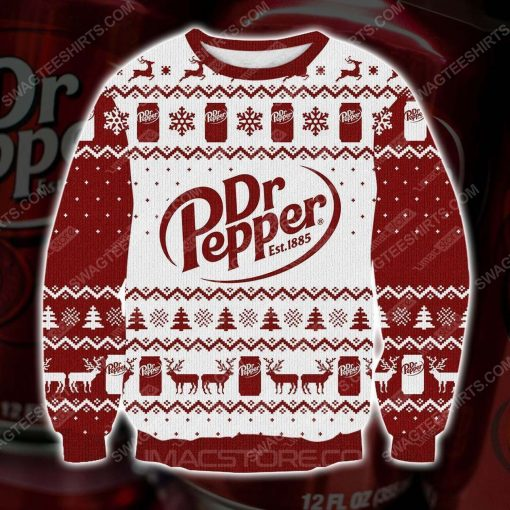 Dr pepper est 1885 ugly christmas sweater - Copy (3)