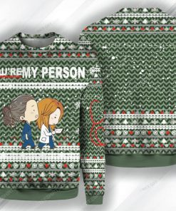 Grey's anatomy tv show you're my person ugly christmas sweater 1 - Copy (2)