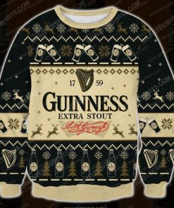 Guinness extra stout ugly christmas sweater - Copy (2)