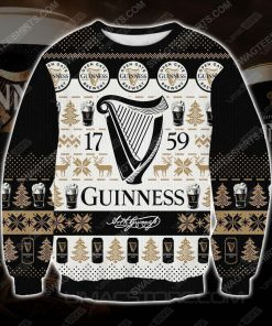 Guinness the 1759 all over print ugly christmas sweater - Copy (2)