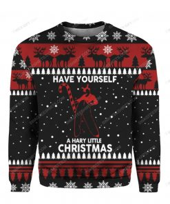 Have yourself a hary little christmas ugly christmas sweater 1 - Copy (2)