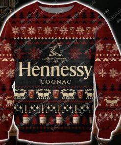 Hennessy cognac all over print ugly christmas sweater - Copy (3)