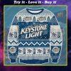 Keystone light beer ugly christmas sweater 1