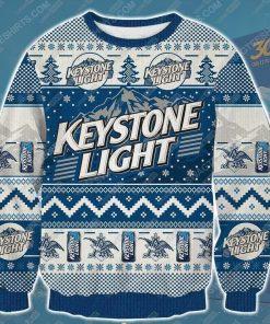 Keystone light beer ugly christmas sweater