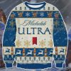 Michelob ultra beer ugly christmas sweater