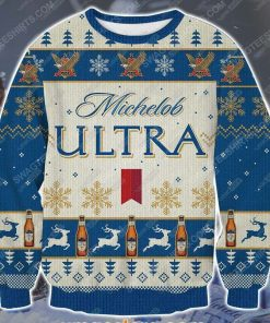 Michelob ultra beer ugly christmas sweater - Copy (3)