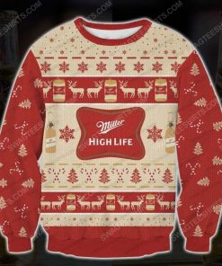 Miller high life beer ugly christmas sweater - Copy (2)