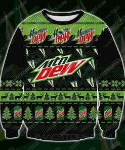 Mountain dew all over print ugly christmas sweater - Copy (2)