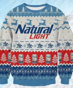 Natural light beer ugly christmas sweater - Copy (2)