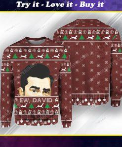Schitt's creek ew david ugly christmas sweater