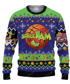 Space jam pattern ugly christmas sweater 1 - Copy (3)