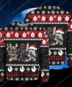Star wars darth vader and stormtrooper ugly christmas sweater 1 - Copy (2)
