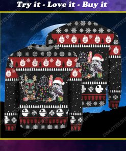 Star wars darth vader and stormtrooper ugly christmas sweater